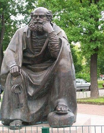 Ключи от города С-Петербурга в руках апостола Петра