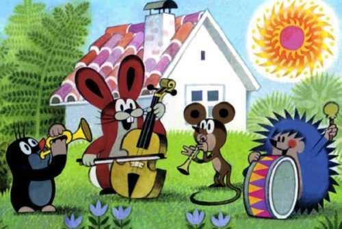 Мультфильм Крот и его друзья