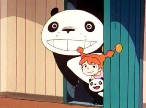 Мультфильм Панда большая и панда маленькая