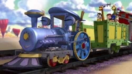 Мультфильм Приключение маленького паровозика
