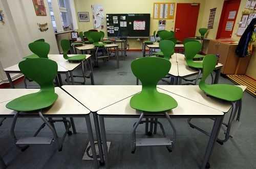 Школьный класс в Берлине