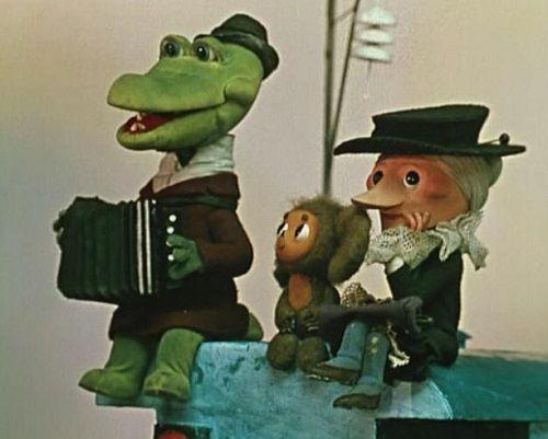 Чебурашка и Крокодил Гена