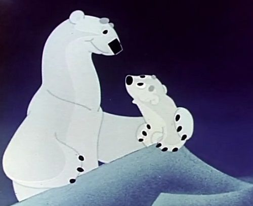 Умка: Люди - это такие медведи, которые ходят на задних лапах и могут снять с себя шкуру.