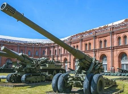 Музей артиллерии Петербург