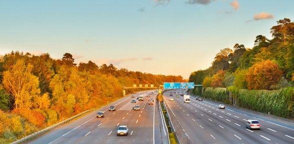 Отличные немецкие скоростные дороги