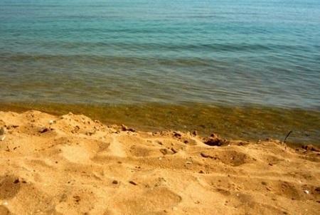 Теплое, неглубокое Азовское море