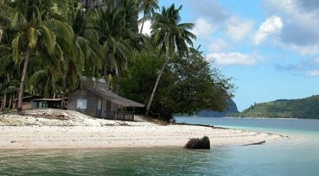 Спокойный уголок - дом для души на острове