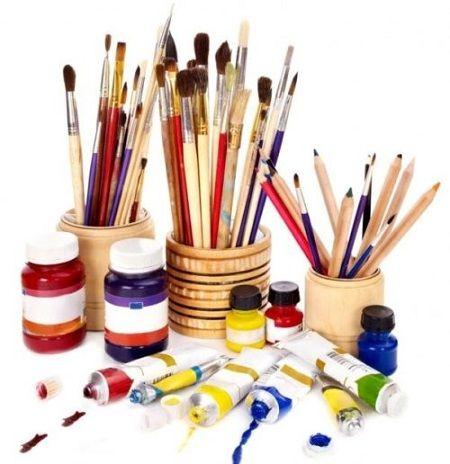 Три К — кисти, краски, карандаши — перенесут ваши образы на бумагу