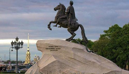Памятник Петру I - Медный всадник