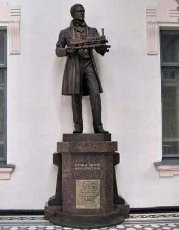 Памятник в Петербурге фон Герстнеру