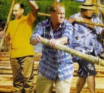 Полный вперед - трое друзей сплавляются на плоту по Волге