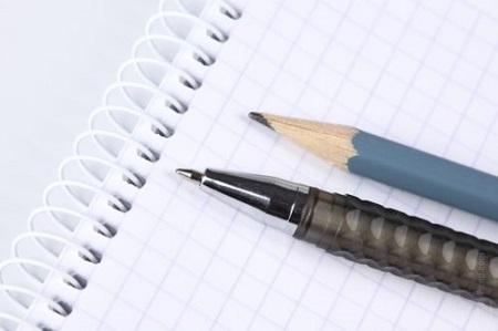 Ручка, карандаш и лист бумаги - а дальше начинается волшебство