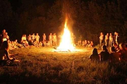 Скаутский летний лагерь