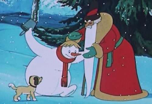 Снеговик — почтовик