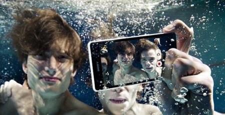 Теперь можно снимать на мобильный и под водой