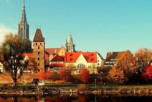Уютные городки Германии