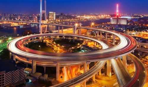 Вечерний современный Китай