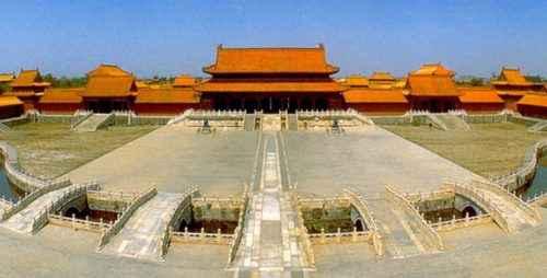 Запретный город китайских императоров.
