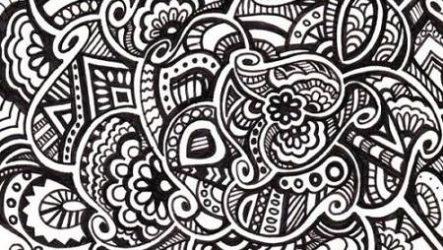 Расслабляйтесь, рисуя с Дудлинг