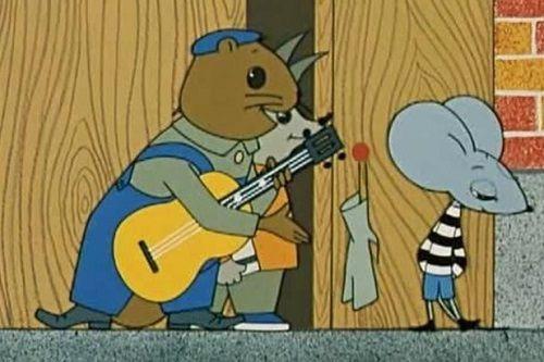 Песенка мышенка: Со мной мои друзья и песенка моя!