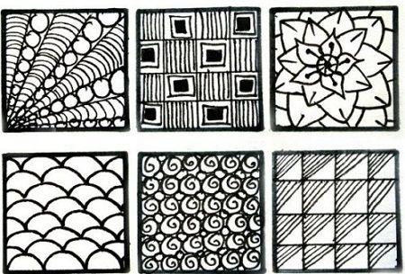 При рисовании узоров, требуется концентрация внимания