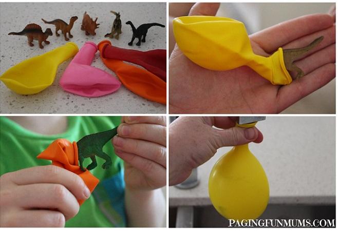 Сюрпризы для воздушных шариков, на которых надо будет опробовать свою меткость
