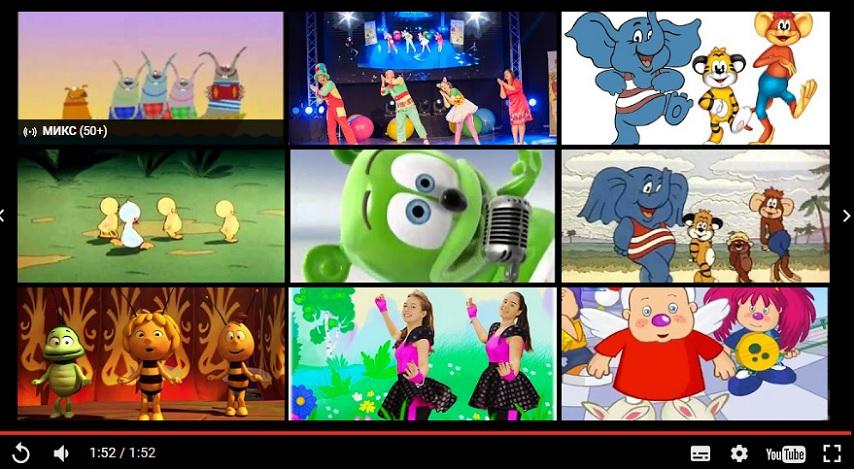 Сборник лучших детских танцевальных песен