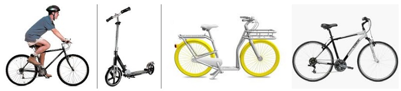 Велосипеды самокаты отлично справляются с городскими пробками