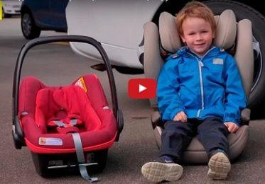 Как перевозить детей в машине в 2017 году