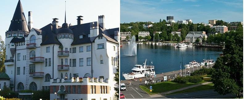Финляндия - Иматра и Лаппеэнранта