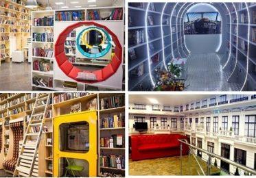 Непривычные библиотеки Петербурга