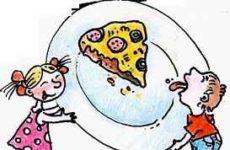Вкусняшки-рисовашки: Пицца на слоеном тесте
