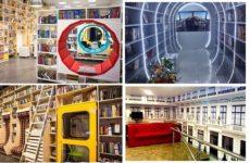 ТОП-3: Непривычные библиотеки Петербурга (видео)