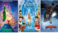 ТОП-10: Новые мультфильмы зимы 2019